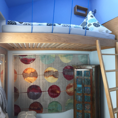 Einzelzimmer mit Hochbett + Sternenblick
