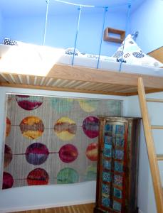 Einzelzimmer mit Hochbett